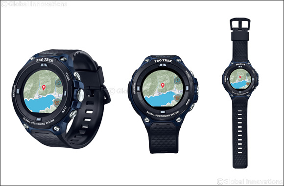 CASIO announces UAE launch of new 'Pro Trek WSD-F20A' outdoor smartwatch