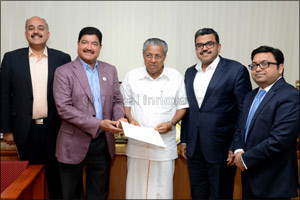 Dr. B. R. Shetty donates INR 4 Crores for the welfare efforts of the Kerala-flood-affected victims