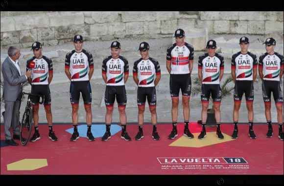 UAE Team Emirates Launches Its Vuelta a Espana Campaign With Encouraging Time Trial Results