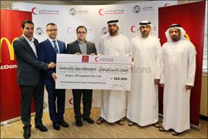 McDonald's UAE raises AED 320,000 for Emirates Red Crescent