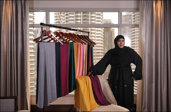 Fashionable  Scarf  Designs by  Sakinah  debuts  in  the  UAE