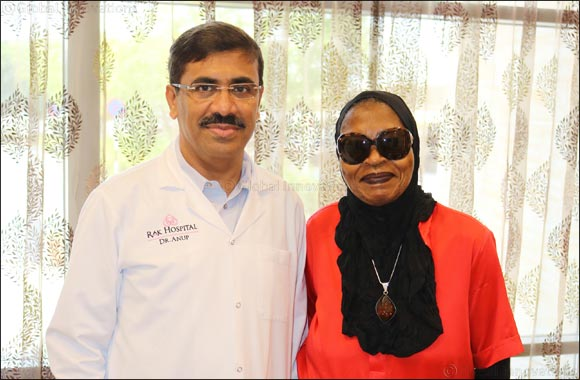 73-year old American woman finds cure for a prolonged illness in UAE