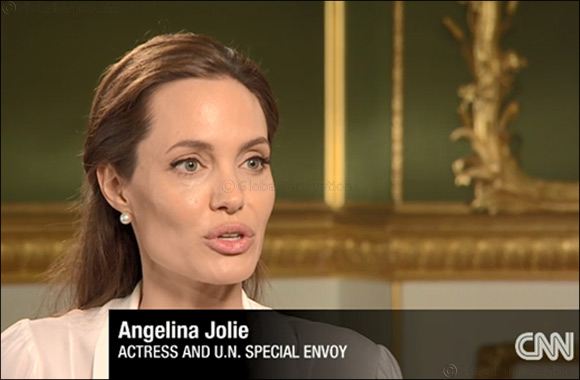 """Angelina Jolie: """"No one dreams of being a refugee; they dream of living up to their potential"""""""