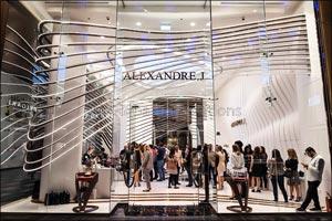 French Luxury Perfumer Alexandre.J Unveils Boutique  in City Walk Dubai