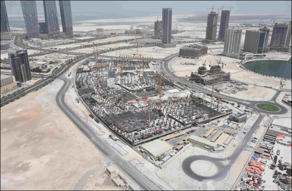 Reem Mall demonstrates significant construction progress