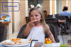 Kids eat FREE at Carluccio's restaurants throughout September
