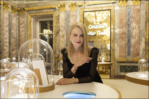 "Nicole Kidman opens OMEGA's ""Her Time"" exhibition in St. Petersburg"
