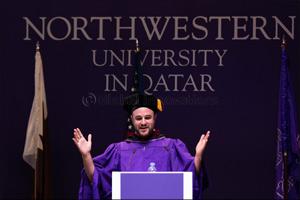 Hollywood Producer/Northwestern Alumnus Speaks at NU-Q
