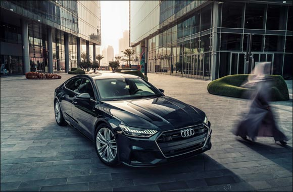The new Audi A7 Sportback: Sporty face of Audi in the luxury class now available in the Middle East
