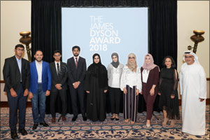 Dyson announces the UAE winner of the James Dyson Award, Progressing to the Global Competition to be ...