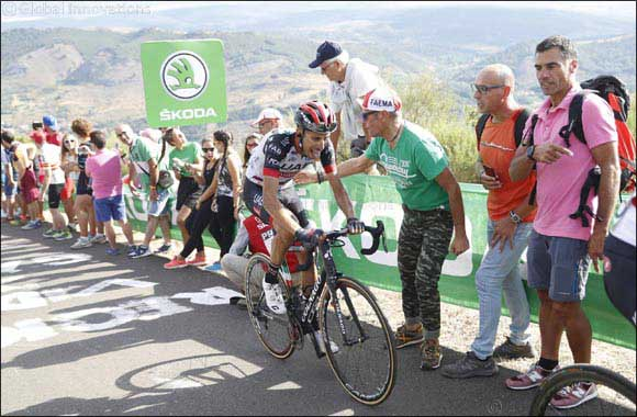 Fabio Aru Takes Another Top 10 Finish for UAE Team Emirates in Stage 14 of La Vuelta A Espana