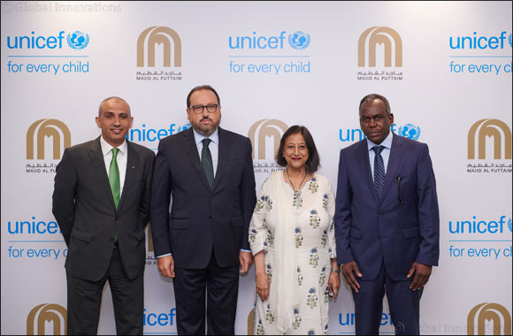Majid Al Futtaim and UNICEF Partner to Help Send 1 Million Children to School by 2020