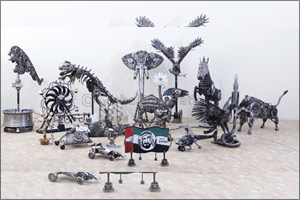 �Unseen Potential' - Art from Scrap and Discarded Parts