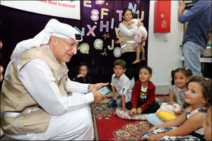 DIHAD Offers a Ray of Hope to Syrian Children at �Mrajeeb Al Fhood' Refugee Camp in Jordan