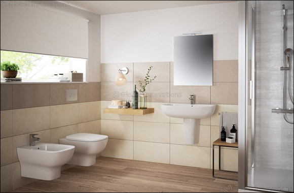 Harmony and Sustainability Define Ideal Standard's 'Esedra' Ceramic Bathroom Collection