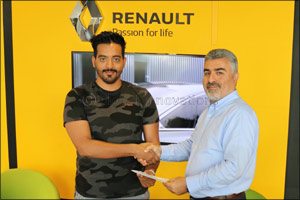 Renault Al Babtain Congratulates Lucky Winner of �Trip to Paris' Campaign!