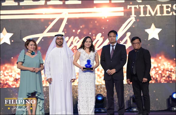 Al-Futtaim Toyota swoops another win at the Filipino Times Awards