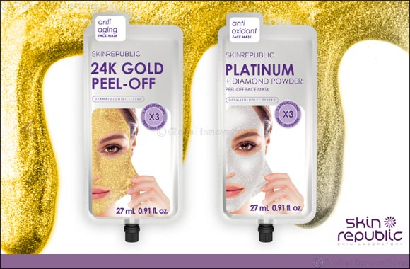 Defying Age With Skin Republic's Gold and Platinum Face Masks