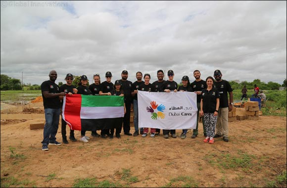 Volunteers from the UAE join hands with the community in Tasset Peulh village in Senegal to build a new community school