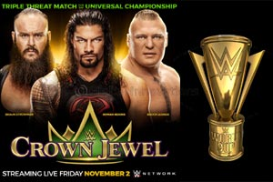 WWE� Crown Jewel Set for November 2 in Saudi Arabia