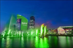 Dubai Festival City Mall Celebrates KSA National Day with Special Imagine Show