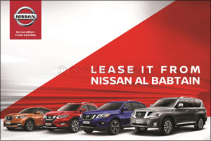 Enjoy Peace of Mind Rental from Nissan Al Babtain with First of its Kind Leasing Offer