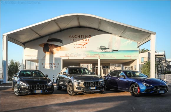 Maserati is the official car of the 41st Cannes Yachting Festival