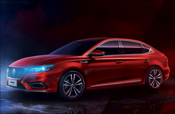 The New Generation MG6 Arrives in the Middle East