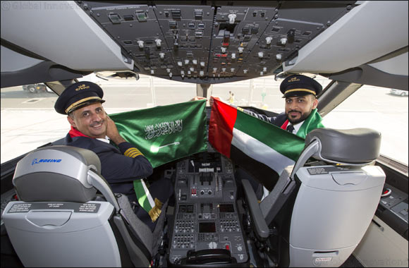 Etihad Airways Deepens Ties Between Uae and Saudi Arabia to Mark National Day