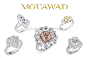 Exceptional Diamond Rings by Mouawad