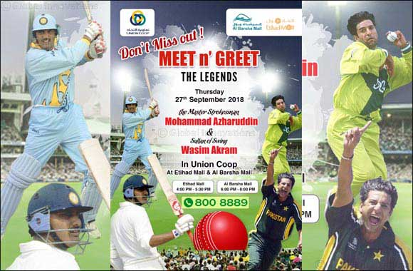 Meet the Cricket Legends with Union Coop