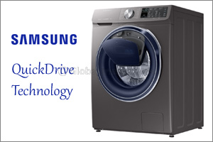 Redefining the Meaning of Quick Laundry with Samsung's QuickDrive� Technology