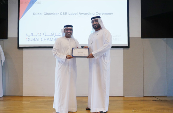 Union Coop receives Dubai Chamber CSR Label for the Sixth year in a row