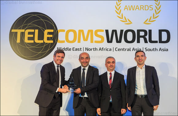Ericsson and Turkcell win the Innovation Award at Telecoms World Middle East