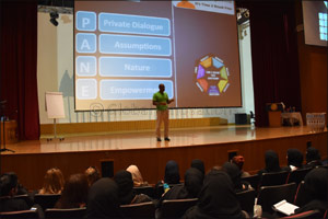 Dar Al Hekma University organizes Creativity Week for freshman students for the 4th time