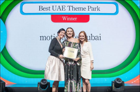 Dubai Parks and Resorts Bags Two Awards at Time Out Dubai Kids Awards 2018