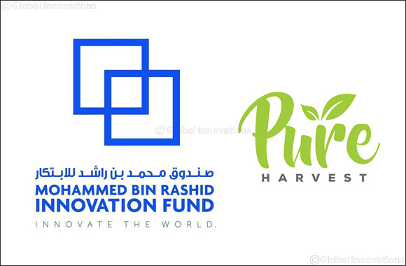 Mohammed bin Rashid Innovation Fund announces AED 5.5 million Disbursement in UAE start-up Pure Harvest