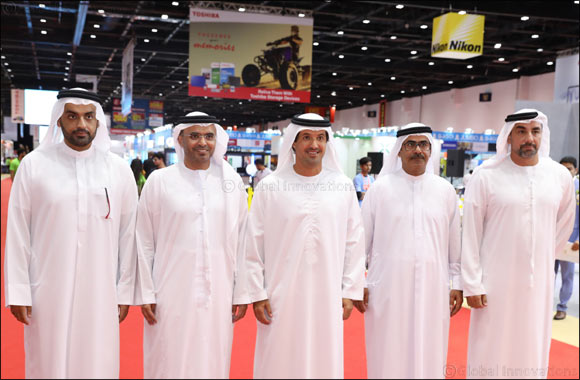 His Excellency Majid Saif Al Ghurair Opens Gitex Shopper 2018