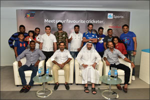 Du brings Asia Cup's cricketing stars closer to the people