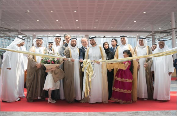 Sheikh Abdullah bin Salem bin Sultan Al Qasimi inaugurates the 45th edition of the MidEast Watch and Jewellery Show