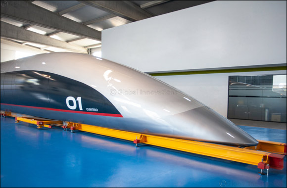 Hyperloop Transportation Technologies Reveals Full-Scale Passenger Capsule