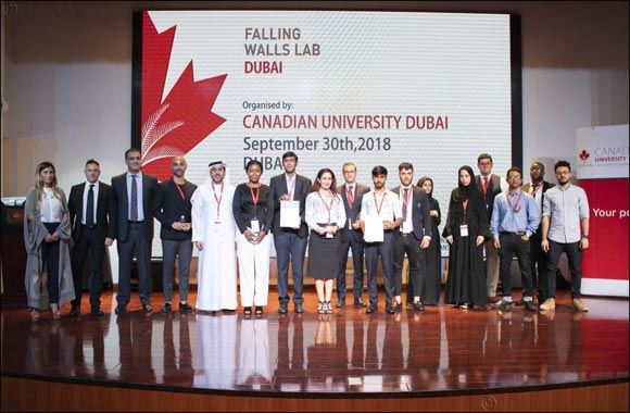 'Falling Walls Lab Dubai' challenge selects female Emirati student's technique for healing scars for Berlin finals