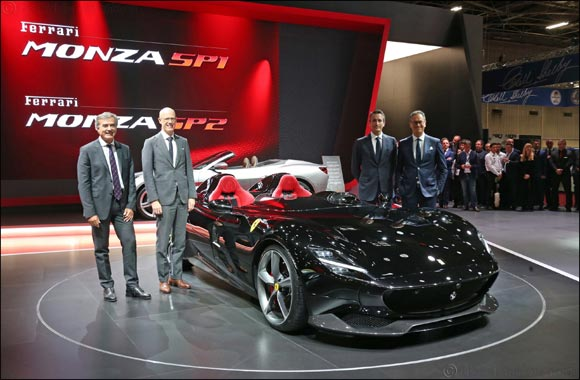 Ferrari Monza SP1 and SP2: the first in a new concept of  limited series 'Icona' cars