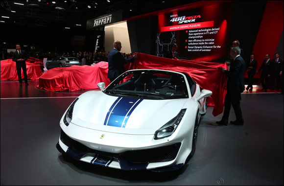 Meet the Ferrari 488 Pista Spider: the highest performance Prancing Horse drop-top ever