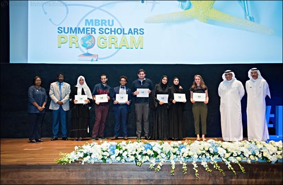 MBRU honors medical students who spent their summer in academic and healthcare institutions to be tomorrow's healthcare leaders