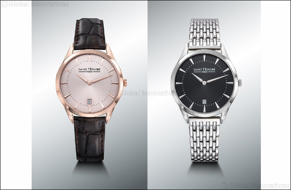 Classic and Refined: SAINT HONORE introduces its new Allure Men Watch