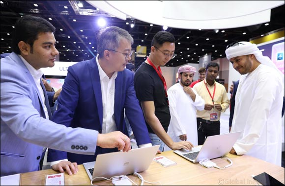 Huawei Unveils Cutting-edge Matebook X Pro Laptop at Gitex Shopper 2018