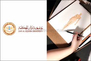 Dar Al-Hekma grants free scholarship to a talented student after seeing her fashion design works on  ...