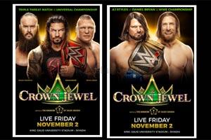 WWE � Championship Match Set for Crown Jewel