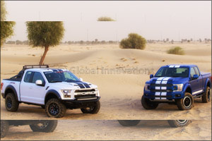 Limited Edition 755 Hp Ford F-150 Shelby Debuts in UAE
